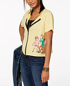 Love Tribe Juniors' Scooby-Doo Graphic-Print Top