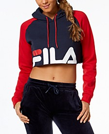 Luciana Cropped Hoodie