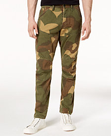 G-Star RAW Men's 5620 3D Tapered-Fit Camouflage Jeans