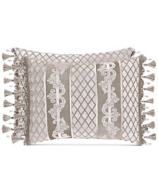 "J Queen New York Bel Air Sand Boudoir 20"" x 12"" Decorative Pillow"
