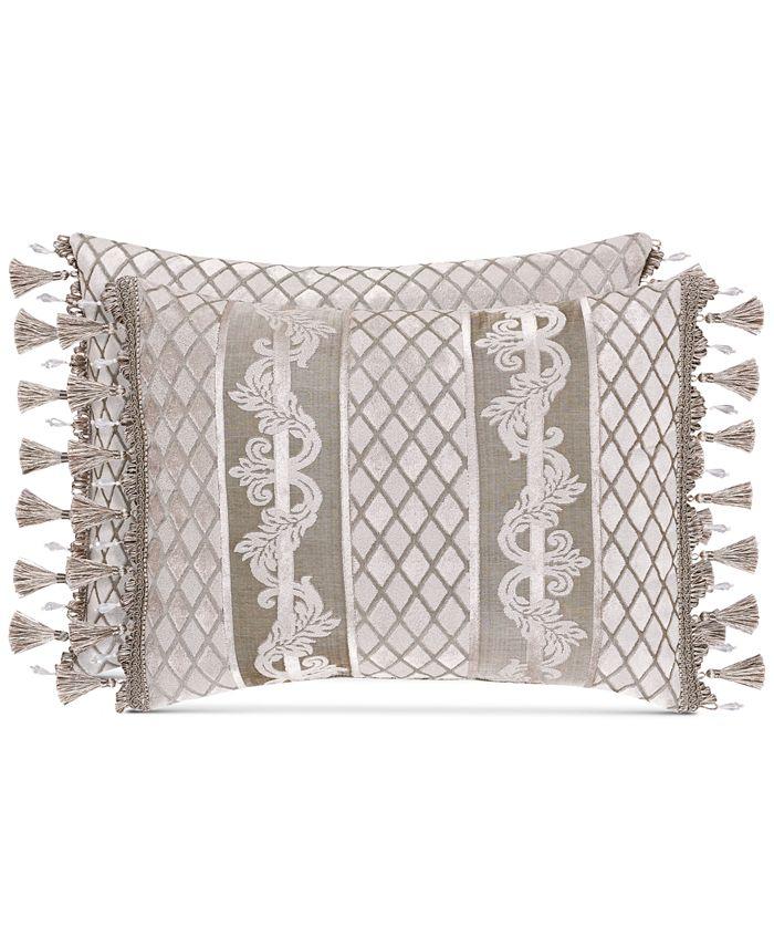 J Queen New York - Bel Air Sand Boudoir Decorative Pillow