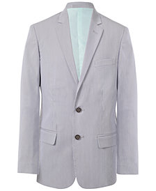 Calvin Klein Pincord Suit Jacket, Big Boys
