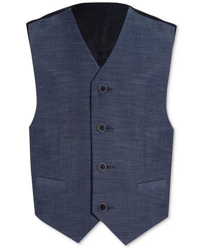 Calvin Klein Plain-Weave Vest, Big Boys