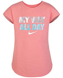 Nike Graphic-Print T-Shirt, Little Girls