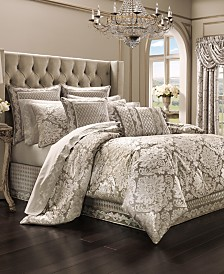J Queen New York Bel Air Sand Comforter Sets