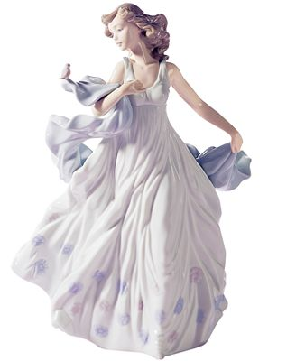 Lladro Collectible Figurine, Summer Serenade