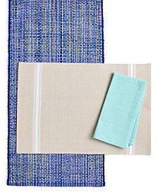 Martha Stewart Collection Table Linen Collection, Created for Macy's