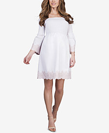 Seraphine Maternity Off-The-Shoulder Dress