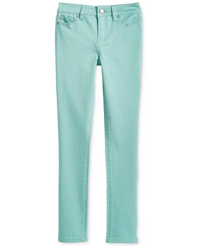 Celebrity Colored Denim Skinny Jeans, Big Girls