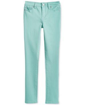 Celebrity Colored Denim Skinny Jeans, Big Girls 6381528
