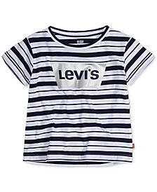 Levi's® Striped Cotton T-Shirt, Big Girls