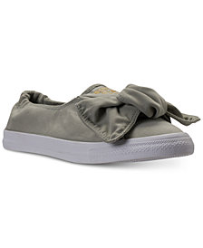 Converse Women's Chuck Taylor Peached Canvas Knot Casual Sneakers from Finish Line