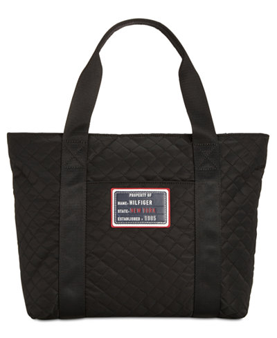 Tommy Hilfiger Quilted Patch Extra Large Tote