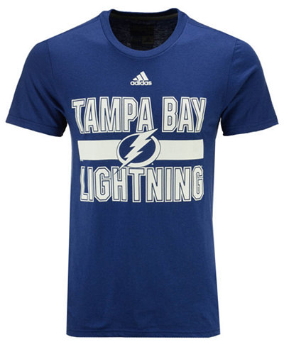 adidas Men's Tampa Bay Lightning Facewash T-Shirt