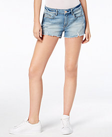 M1858 Cary Ripped Denim Cutoff Shorts, Created for Macy's