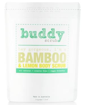 Buddy Scrub Bamboo  Lemon Body Scrub 7oz