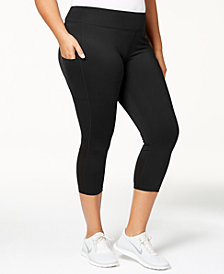 Nike Plus Size Power Racer Capri Leggings
