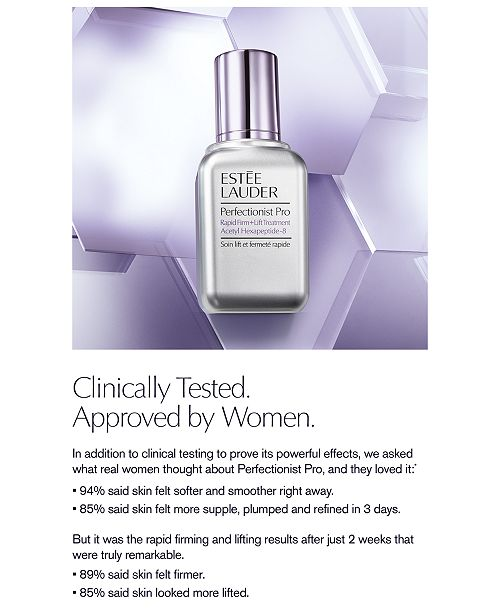 Estee Lauder Perfectionist Pro Rapid Firm + Lift Treatment, 1-oz.