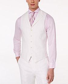 Sean John Men's Classic-Fit White Suit Vest