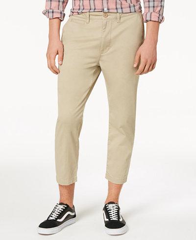 American Rag Men's Cropped Stretch Pants, Created for Macy's
