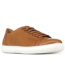 Donald Pliner Men's Calise Perforated Leather Sneakers
