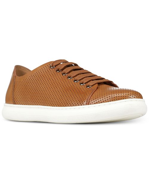 Donald Pliner Men's Calise Perforated Leather Sneakers Men's Shoes qEf2KeJr