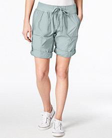 Calvin Klein Performance Poplin Cargo Shorts