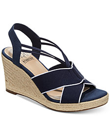 Impo Tegan Espadrille Platform Wedge Sandals