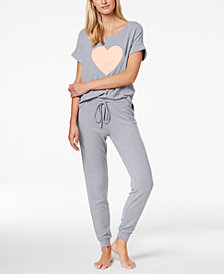 Jenni by Jennifer Moore Solid Pajama Top, Shorts and Pants Sleep Separates, Created for Macy's