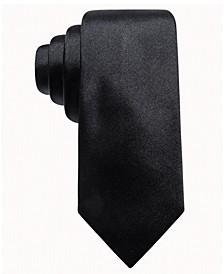 Men's Solid Silk Tie, Created for Macy's