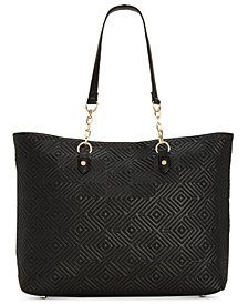 I.N.C. Quiin Laptop Tote, Created for Macy's