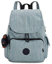 Kipling Ravier Denim Backpack