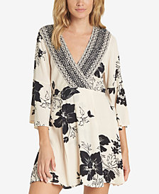 Billabong Juniors' Divine Printed Surplice Dress