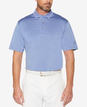 Pga Tour Men's Heathered Golf Polo Shirt 2742193