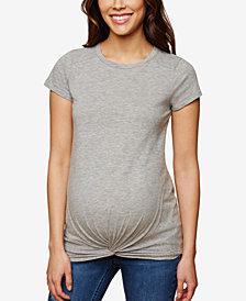 Motherhood Maternity Twist-Front T-Shirt