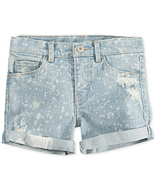 Levi's® Summer Love Shorty Shorts, Little Girls