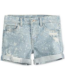 Levi's® Summer Love Shorty Shorts, Little Girls