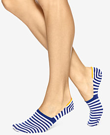 HUE® Women's High Cut Resort Liner Socks