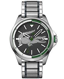 Lacoste Men's Capbreton Stainless Steel Bracelet Watch 46mm