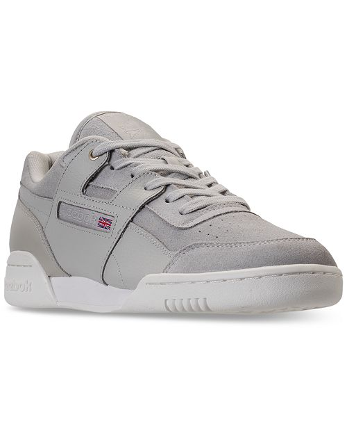 293700cb637c2 Reebok Men s Workout Plus MCC Casual Sneakers from Finish Line ...