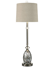 Uttermost Ceredano Capiz Shell Buffet Table Lamp