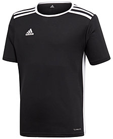 adidas Originals Youth Entrada 18 Jersey T-Shirt, Big Boys