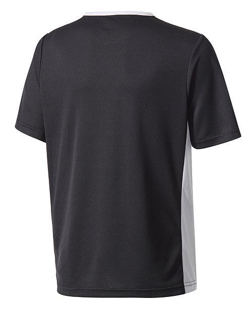 39a5b90732f adidas Youth Entrada 18 Jersey T-Shirt, Big Boys & Reviews - Shirts ...
