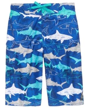 Laguna Shark-Print Swim...