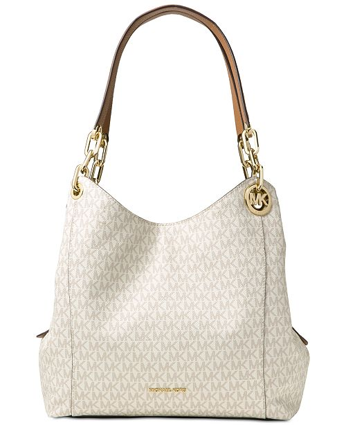 90a5a153e1dad6 Michael Kors Fulton Large Signature Hobo & Reviews - Handbags ...