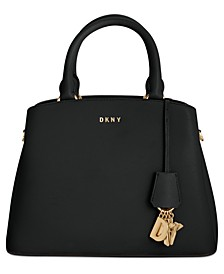 Leather Paige Medium Satchel