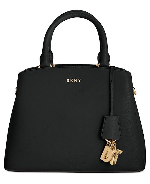 Dkny Medium Paige Handbags Created Macy's Leather Satchel For qqOR4