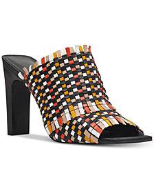 Nine West Lucili Raffia Sandals