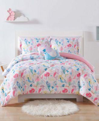 Mermaids Full/Queen 3-Pc. Comforter Set