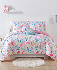 Laura Hart Kids Mermaids Full/Queen 3-Pc. Comforter Set